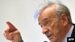 Лауреат Нобелевской премии Эли Визель