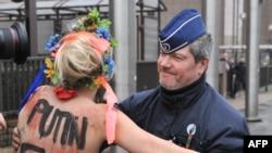 FEMEN у Брюсселі