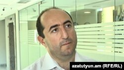 Депутат фракции «Мой шаг», экономист Артак Манукян (архив)