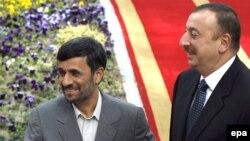 İlham Əliyev və Mahmud Ahmadinejad