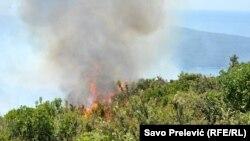 Požari u Crnoj Gori