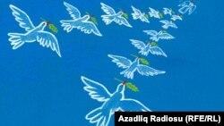 اثری از رشید شریف، کاریکاتوریستی از جمهوری آذربایجان.