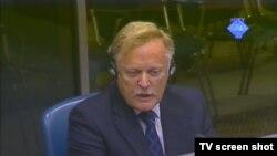 Svjedok Richard Mole u sudnici 1. studenoga 2012.