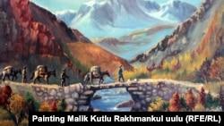 Памир кыргыздары, Малик Кутлунун сүрөтү.