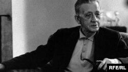 U.S. -- Czech journalist Ferdinand Peroutka, first director of Radio Free Europe's Czechoslovak Service. New York, 1955.