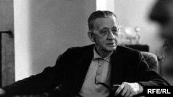 Czech Republic/U.S. -- Peroutka, Ferdinand, First Director of RFE Czechoslovak Broadcasting; New York 1955.