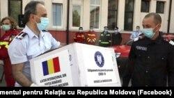 Ajutor medical românesc pentru R. Moldova, 7 mai 2020