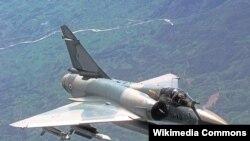 Ֆրանսիայի օդուժի Mirage 2000C տեսակի կործանիչը, արխիվ
