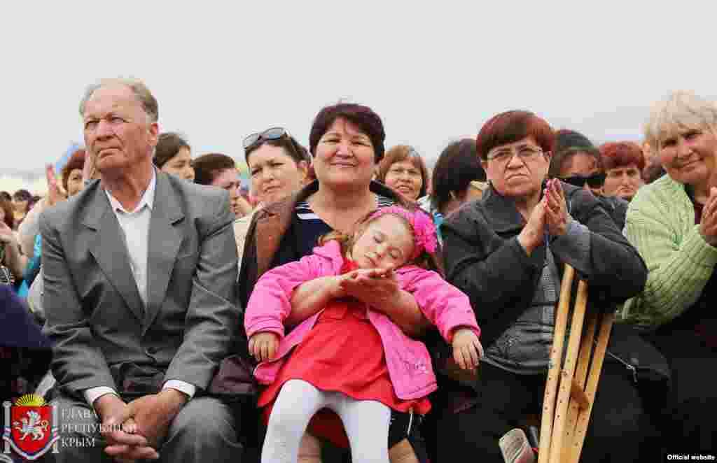 Оккупационная власть провела крымскотатарский праздник Хыдырлез, 3 мая 2015 года