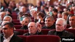 Съезд Объединенной рабочей партии, Ереван, 29 февраля 2012 г.