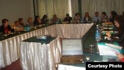 Архивска фотографија: Семинар на СОЖМ за Справување со семејното насилство на локално ниво.