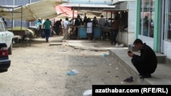 Рынок «Gök bazar» в Дашогузской области Туркменистана. Архивное фото.