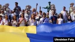 День державного прапора в Одесі, 23 серпня 2014 року