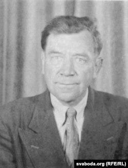 Лявон Рыдлеўскі незадоўга да сьмерці. 1953 год