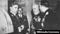 Susret Ante Pavelića i Benita Musolinija