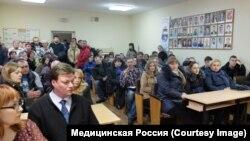 Воронежские врачи скорой на встрече с руководством