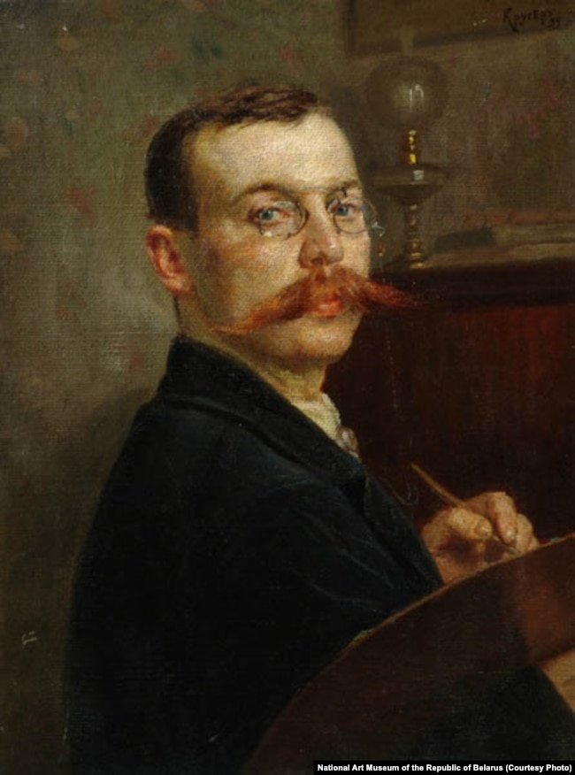 Янкель Кругер. Аўтапартрэт. 1899 г.