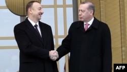 İlham Əliyev və Recep Tayyip Erdoğan Ankarada - 15 yanvar 2015