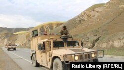 Afghan army in Badakhshan.