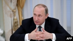 "Russian President Vladimir Putin said Kyiv's actions were ""stupid"" and ""criminal"" and that there was no point in holding talks on the foundering peace process in eastern Ukraine."