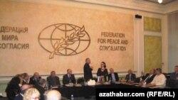 Orsýetdäki türkmen diasporasy Türkmenistanyň Garaşsyzlygynyň 20 ýyllygyny belleýär. Oktýabr, 2011.
