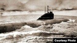 Съветската подводница К-8 потъва на 12 април 1970 г.