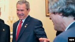 Бывший президент США Джордж Буш - младший.