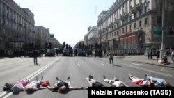 Протестная акция в Минске