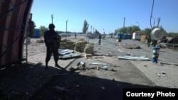 Пункт пропуску «Должанський», Луганщина, 2 липня 2014 року