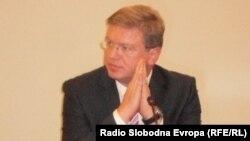 Еврокомеасрот за проширување Штефан Филе