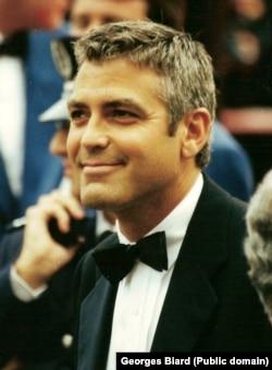 Джордж Клуни, Каннский кинофестиваль, 2000. Фото Georges Biard