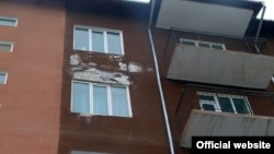 Мамлекеттик дирекция курган үйлөр. Ош шаары, 28-июль, 2012