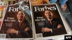"""Forbes"" žurnalynyň Wietnamda çap edilen sany"