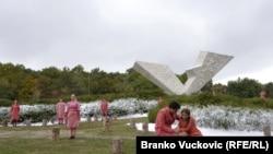 """Šumarice, poema """"Kad nevine duše odlaze"""", 21. oktobar 2011."""