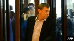 Премиерот на самопрогласената република Доњецк, Александар Захарченко