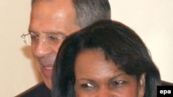 Rice and Lavrov in happier times earlier this year