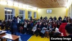 """Собрание родителей в школе """"Горки"""""""