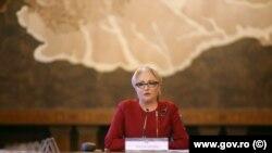 Viorica Dăncilă a anunțat și reducerea TVA la produsele tradiționale.