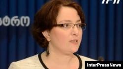 Gürcüstanın müdafiə naziri Tina Xidaşeli