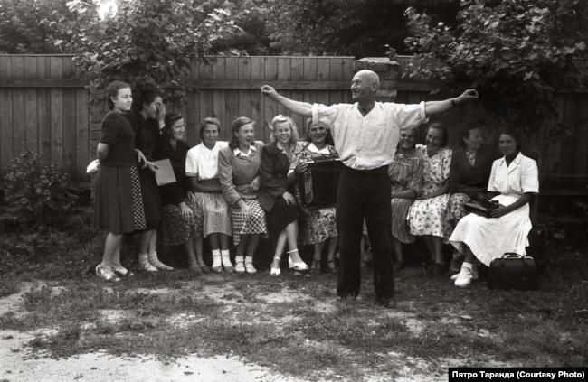 Работнікі швейнай фабрыкі, Баранавічы, 1960-я гады