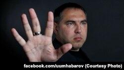 На снимке: Роман Хабаров