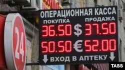 Курсы обмена основных валют на улицах Москвы 3 марта
