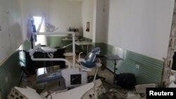 حمله به یک بیمارستان در استان ادلب (عکس از آرشیو)