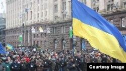Антиурядові виступи у Києві