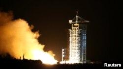 Запуск первого в мире квантового спутника 16 августа 2016 г.