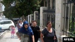Hökməlidən olan qadınlar Bakıda, 12 avqust 2009