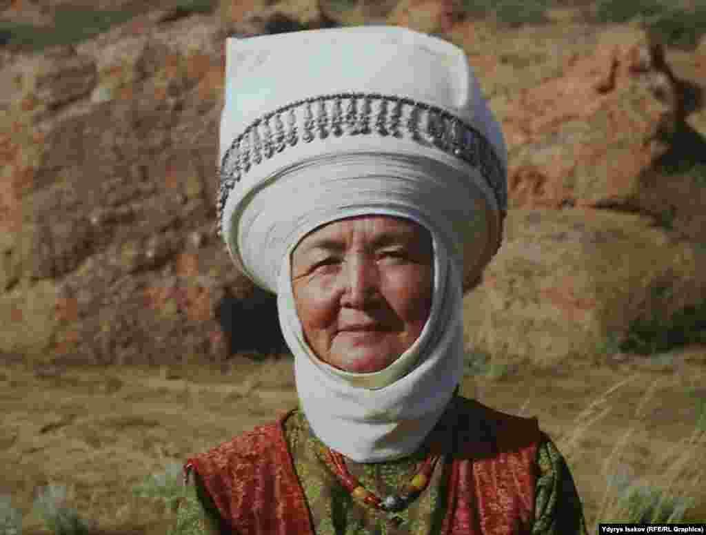 Кыргызстандын түндүгүнө тараган элечектин түрү