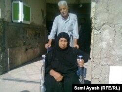 ام جمال وزوجها صالح جمعة