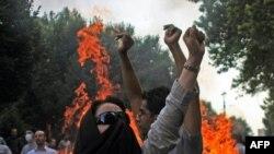 Demonstrațiile de joi de la Teheran