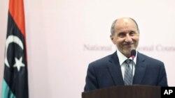 Глава Национального переходного совета Мустафа Абдель-Джалиль